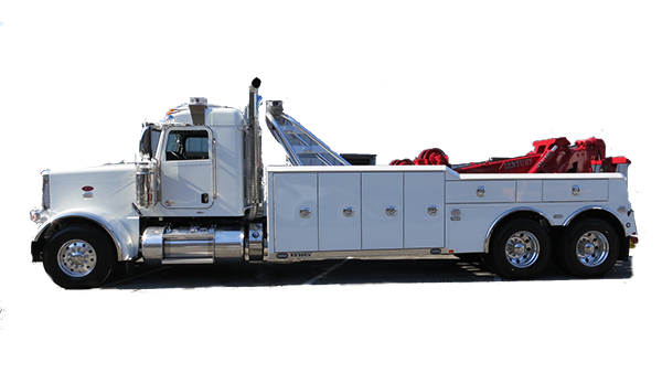 Heavy duty towing truck at West End Service