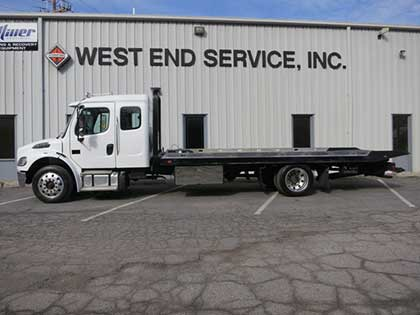 New Commercial Trucks at West End Service
