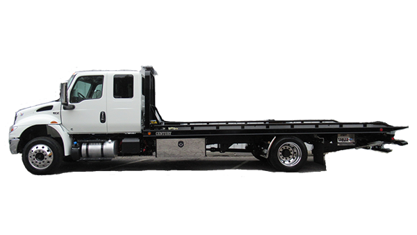 Car carriers and rollback commercial truck